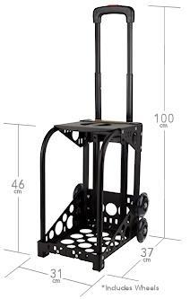 dimensions zuca sport frame - Zuca Frame