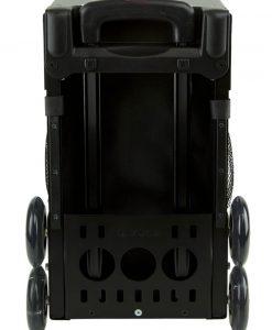 zuca sport obsidian insert bag black frame back