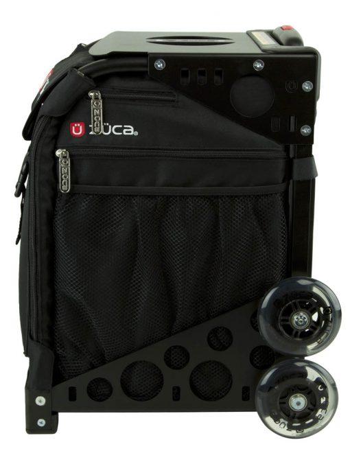 zuca sport obsidian insert bag black frame profile