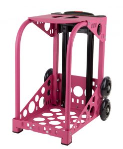 Zuca Pink Frame with flashing wheels