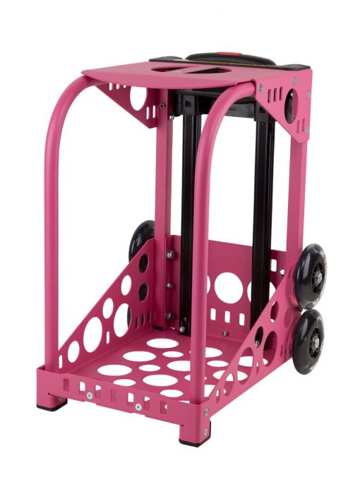 Zuca Pink Frame with flashing wheels