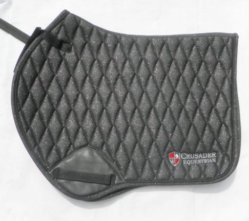 Black saddle pad