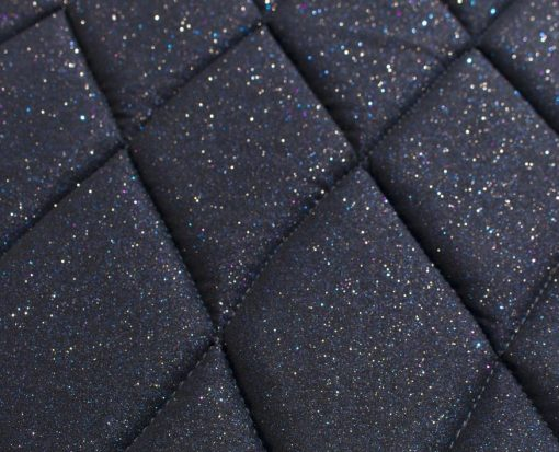 dark blue saddle pad