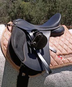 gold saddlepad