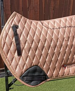 gold saddlepad